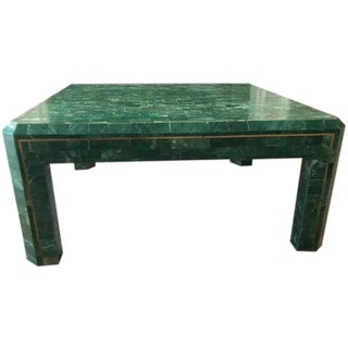 Maitland-Smith Tessellated Stone Cocktail Table