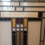 Image of Craftsman Style Stained Glass Panel