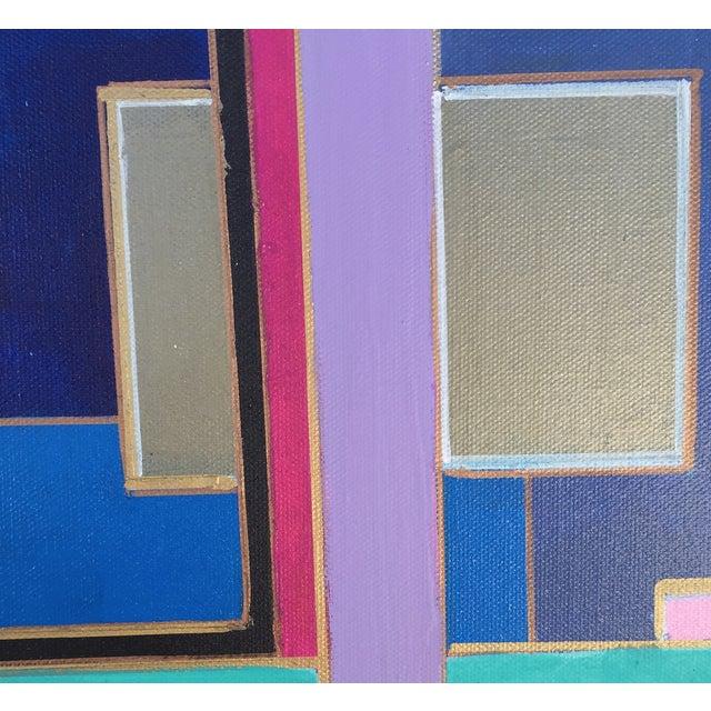 Bryan Boomershine 'Modern Block Series' Painting - Image 4 of 4