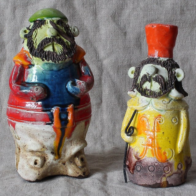 Image of Pottery Figures by Ivo De Santis for Gli. Etruschi