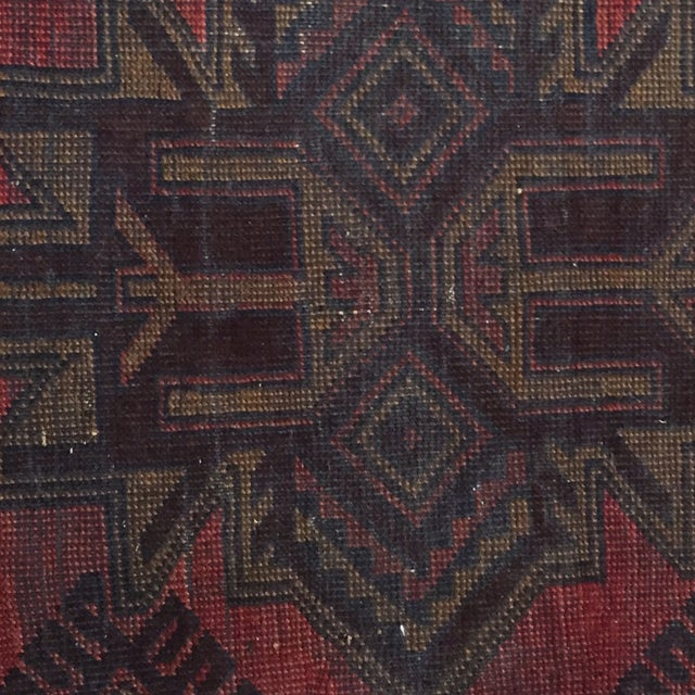 Balluchi Persian Rug - 2′7″ × 2′8″ - Image 5 of 7