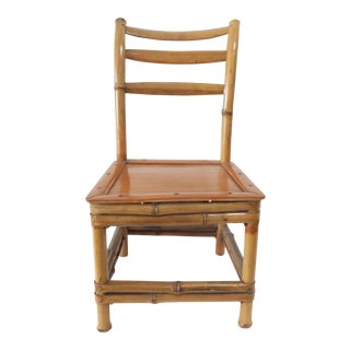 Child's Bamboo Chair