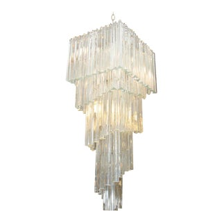 Camer Five-Tier Murano Glass Chandelier