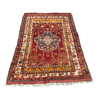Antique Turkish Ladik Rug - 3'7 X 5'6