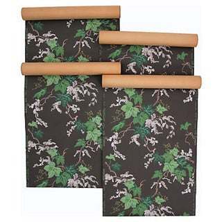 Vintage Ivy Wallpaper - Set of 4