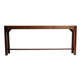 British Colonial Altar Table with Original Patina
