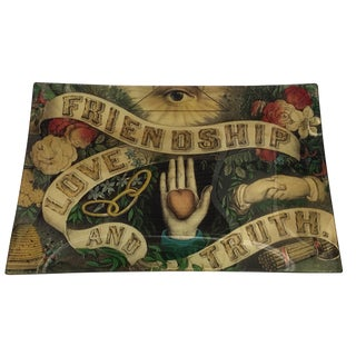'Friendship Love Truth' Letter Tray