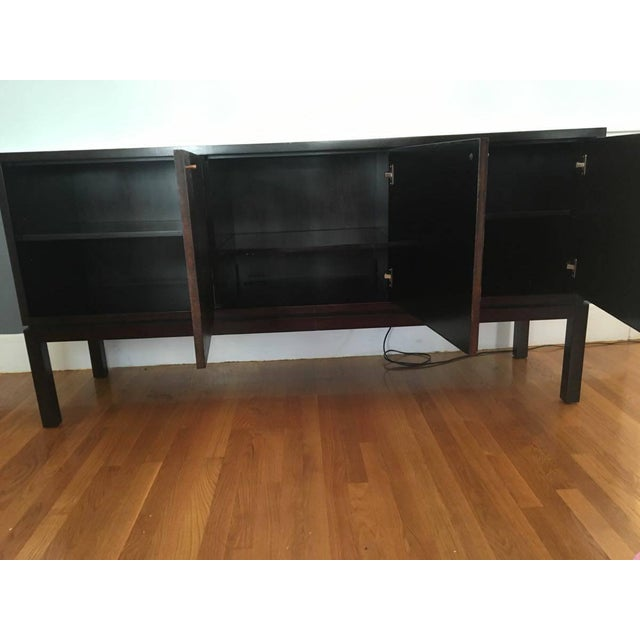 Crate & Barrel Cirque 3 Door Sideboard - Image 4 of 11