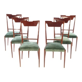 Italian Mid Century Dining Chairs - Set of 6