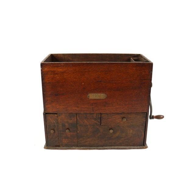 Image of 1901 Antique Bank Money Machine