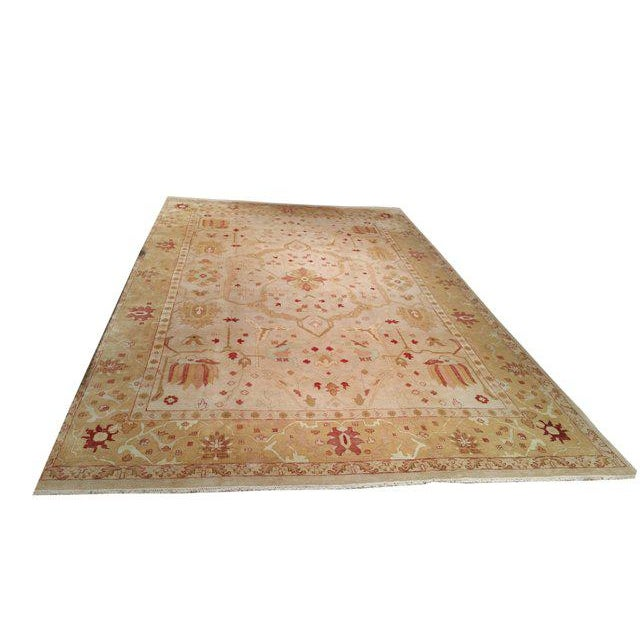 11′8″ × 18′2″ Traditional Hand Made Knotted Rug - Size Cat. 12x18 - Image 2 of 4