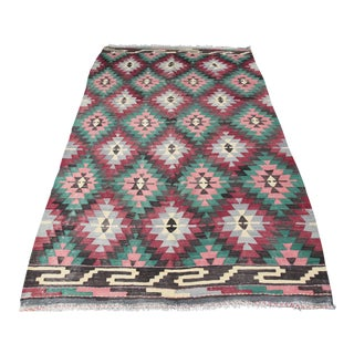"Turkish Handmade Kilims - 6'4"" x 10'5"""