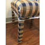 Image of Armless Parsons Style Dining Chairs - Set of 4