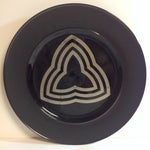 Image of Tapio Wirkkala Porcelaine Noire Charger Rosenthal