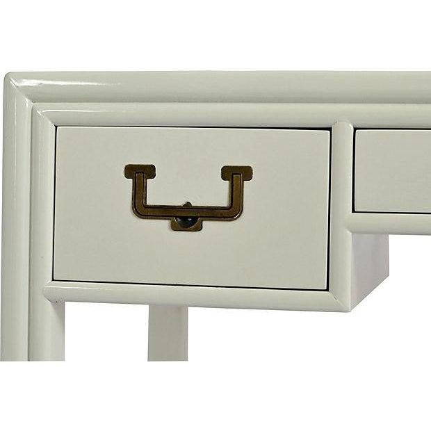 Henredon Artefacts Campaign-Style Desk - Image 4 of 5