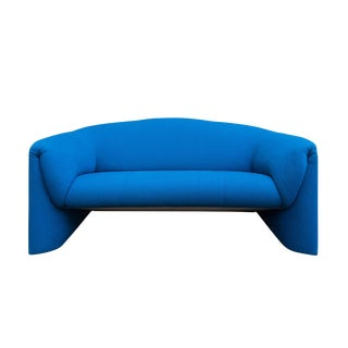 Modern Blue Loveseat by Leolux