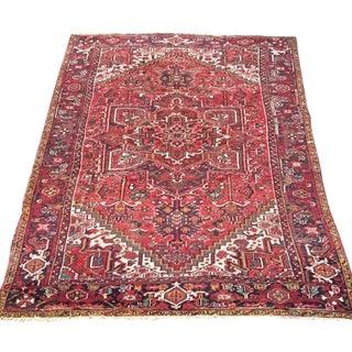 """Antique Persian Heriz Rug - 8'9"""" x 11'9"""""""