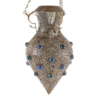 Moroccan Jeweled Pendant Lantern