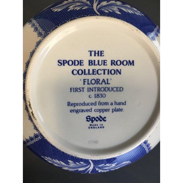 Spode Blue & White Vase - Image 3 of 4