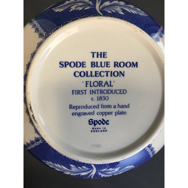 Image of Spode Blue & White Vase