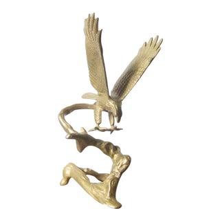 Vintage Brass Eagle Figurine