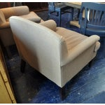 Image of Cotton-Wool Blend Arm Chairs