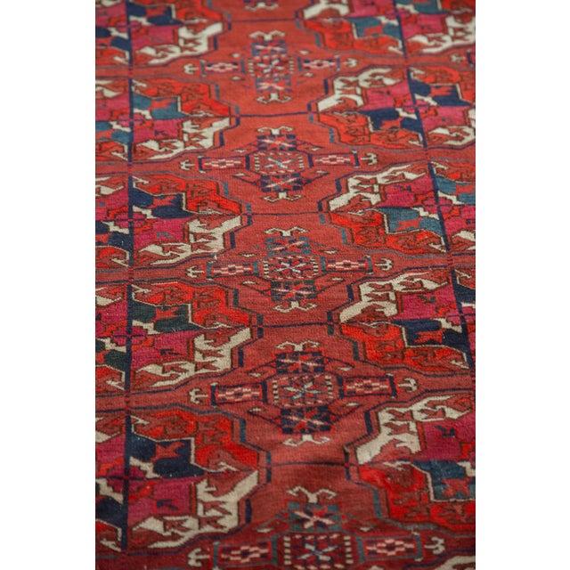 "Antique Tekke Bokhara Carpet - 6'11"" X 10' - Image 7 of 10"
