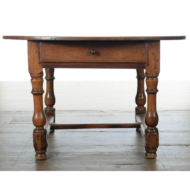 18th Century Fruitwood Oval Center Table - Image 3 of 10
