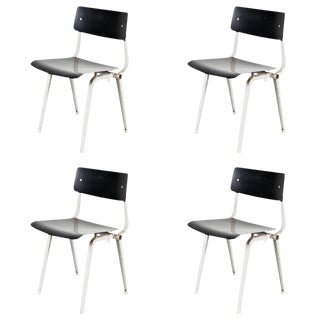 Rare Set of Four Friso Kramer Theater Chairs, 1959