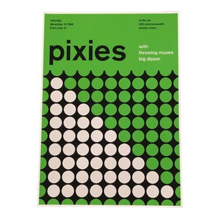 Modern Pixies Graphic Poster Print