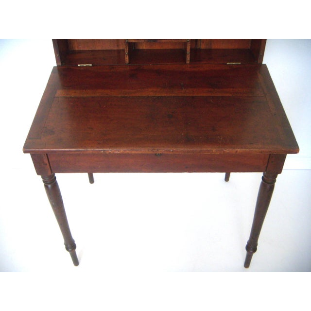 Antique Lift-Top Plantation Desk/Bureau - Image 4 of 8 - Antique Lift-Top Plantation Desk/Bureau Chairish