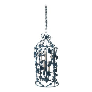 Vintage Floral Pendant Light