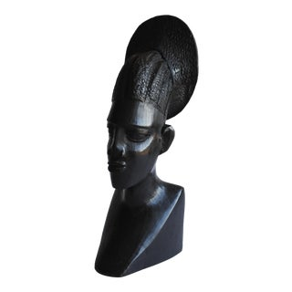 Hand Carved African Sculpture