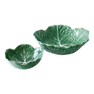 Cabbage Nesting Bowls - A Pair