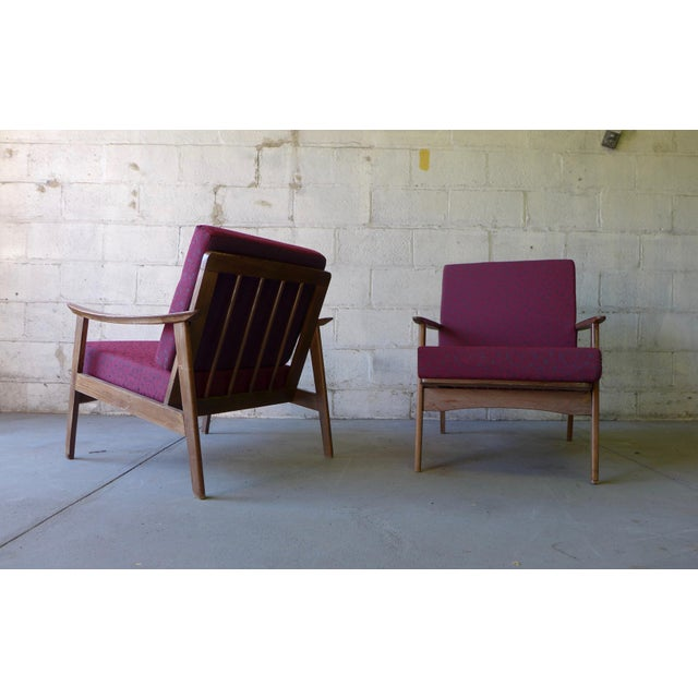 Mid-Century Modern Lounge Chairs - A Pair - Image 6 of 7