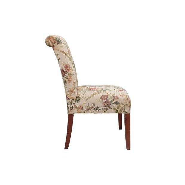 Floral Dining Chairs, S/6 - Image 3 of 6