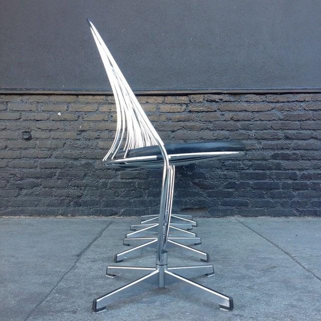 Dahlens Dalum Swedish Chrome Chairs - Set of 4 - Image 5 of 5