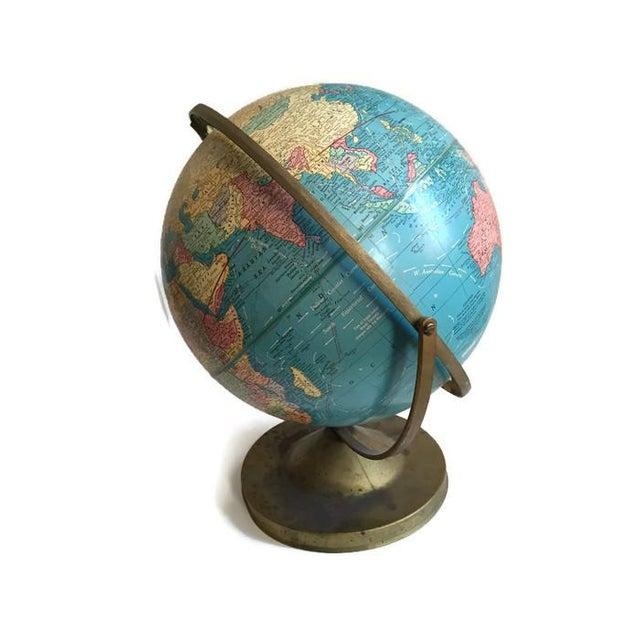 Mid Century Cram's Tilting Axis Globe - Image 3 of 6