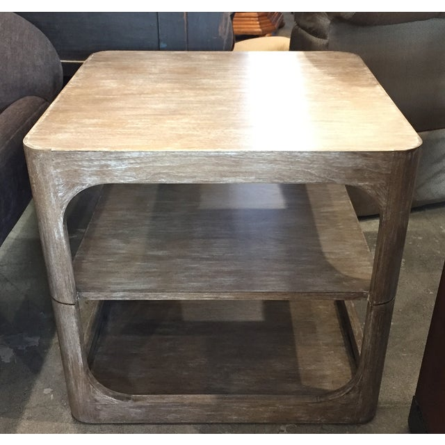 Modern Two-Tier Accent Table - Image 3 of 6