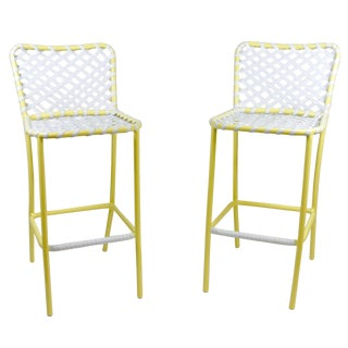 Brown Jordan Tamiami Bar Stools - A Pair