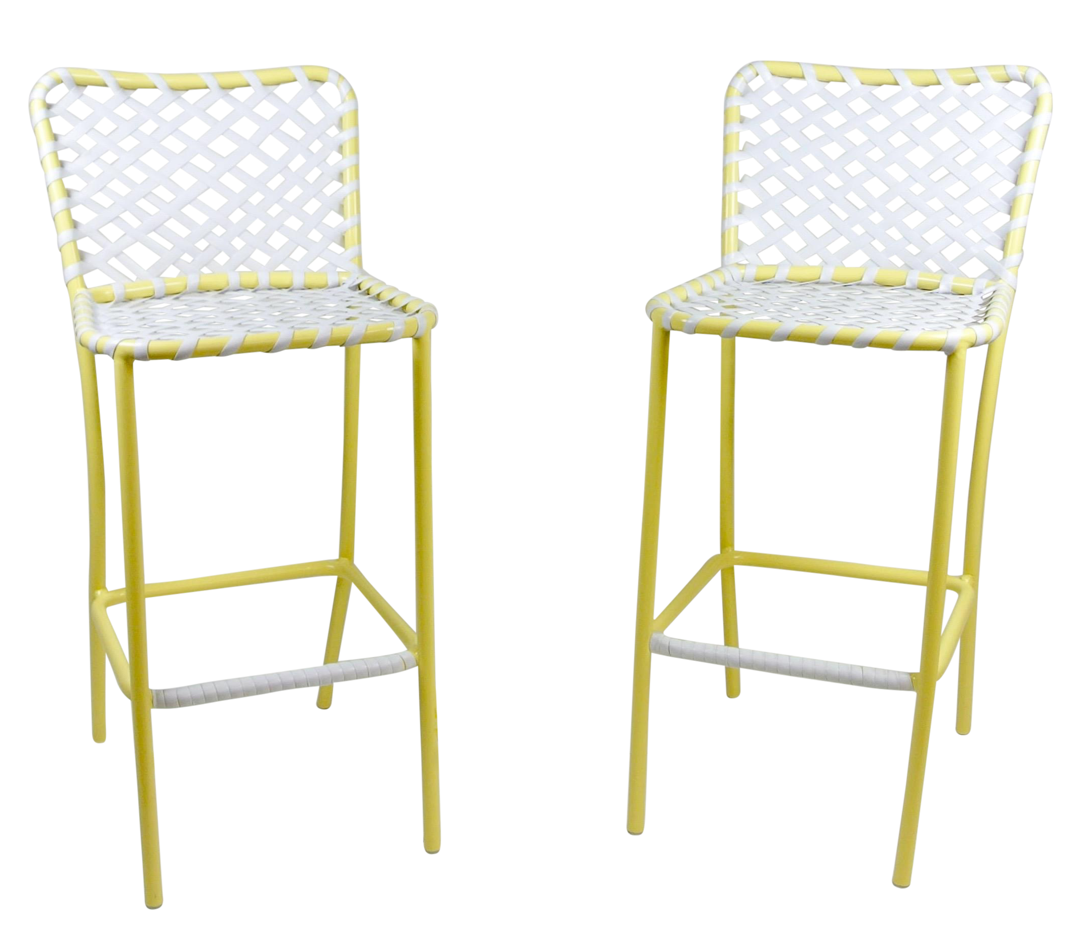 brown jordan tamiami bar stools a pair