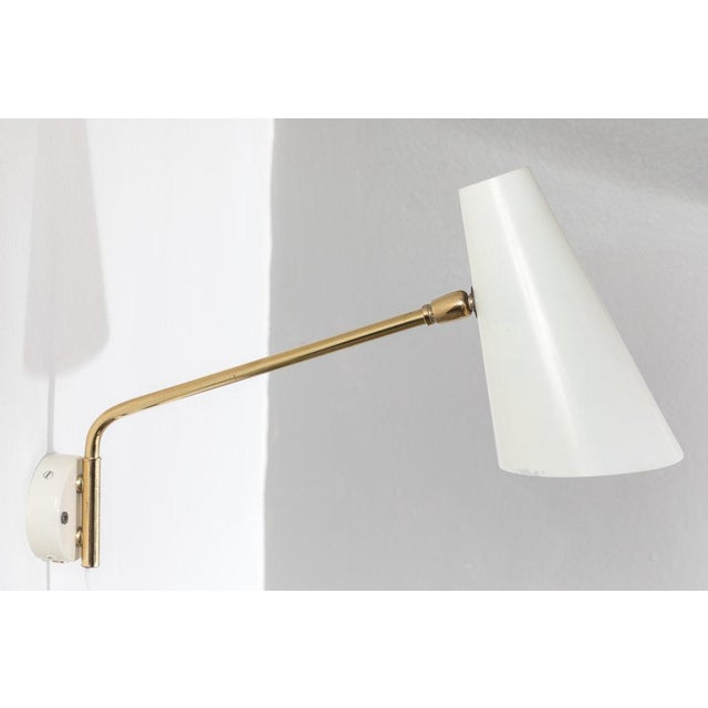 1960s Cosack Leuchten Articulating Wall Light - Image 7 of 9