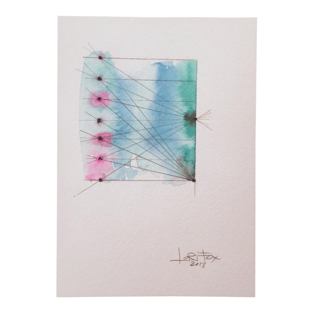 "Image of ""Connected"" Watercolor Painting"