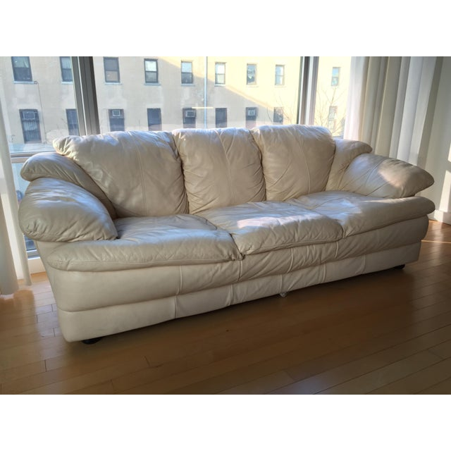 Leather Sofas For Sale In Northern Ireland: Natuzzi Italian Leather Sofa
