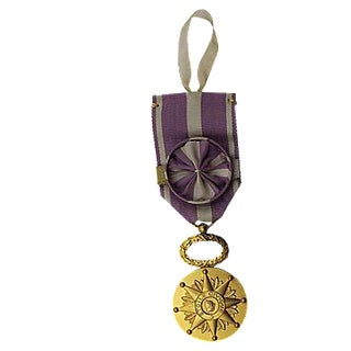 French Étoile Civique Medal Ornament