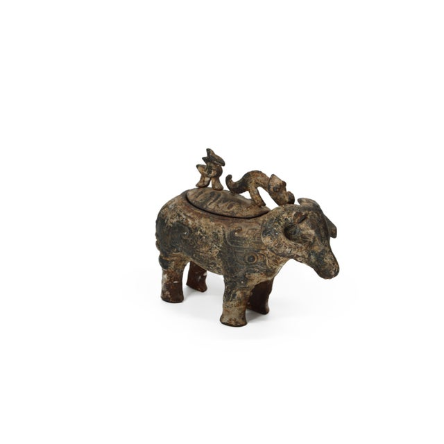 Chinese Ram Vessel Archaistic Bronze - Image 3 of 6