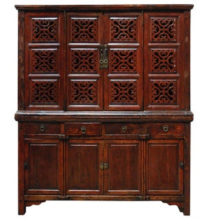 18th c. Chinese Kitchen Cabinet