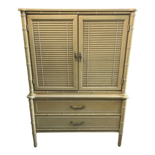 Henry Link Bali Hai Hollywood Regency Armoire