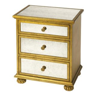 Butler Specialty Grable Gold Leaf Accent Chest