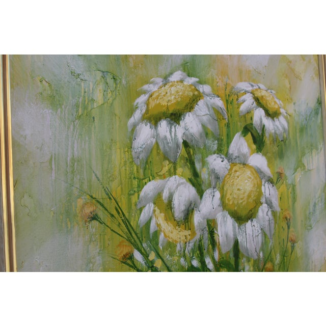 Image of Mid-Century Floral Painting
